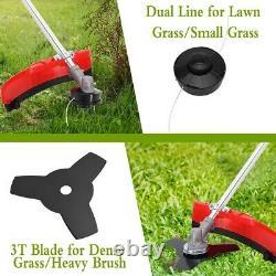 52cc 3-en-1 Petrol Grass Strimmer / Trimmer / Brush Cutter 3 Ans Garantie