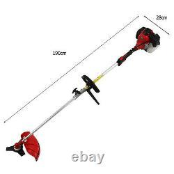 52cc 4 En 1 Garden Multi Tool Strimmer Essence Hedge Trimmer Chain Saw Brosseuse