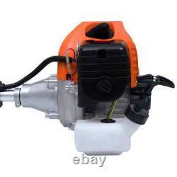 52cc 4-en-1 Multi Garden Petrol Tools Hedge&grass Trimmer Chainsaw Brushcutter