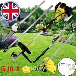 52cc 5 En 1 Hedge Trimmer Multi Outil Essence Brush Strimmer Brushcutter Garden Chainsaw