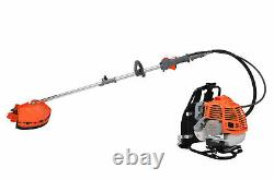 52cc 5 En 1 Sac À Dos Essence Strimmer Brush Cutter Chainsaw Garden Hedge Taille-haies