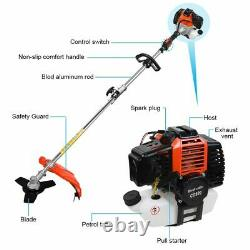 52cc 5in1 Hedge Trimmer Multi Outil Essence Strimmer Brosse Cutter Garden Chainsaw
