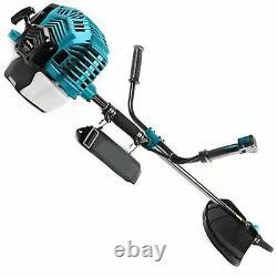 52cc Essence Puissant Moteur Grass Strimmer Trimmer Brush Cutter Metal Blade