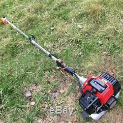 52cc Jardin Taille-haies Ensemble D'outils Débroussailleuse Coupe-herbe Chainsaw Multi Utilisation