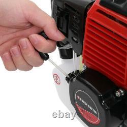 52cc Multi Function Garden Tool 5 En 1 Essence Strimmer Brush Cutter Chainsaw Me