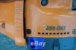 555 Rxt Professional Husqvarna Tondeuse À Gazon / Débroussailleuse + Bouteille D'huile Stihl