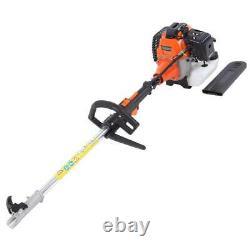 5 En 1 52cc Petrol Hedge Trimmer Chainsaw Brush Cutter Pole Saw Outils Extérieurs