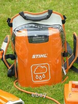 Batterie Brushcutter/strimmer Sans Fil Stihl Fsa 130r + Sac À Dos Stihl Ar 2000