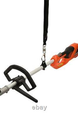 Brushcutter Électrique Multi-outils Strimmer Hedge Trimmer Chainsaw 1200w Garden
