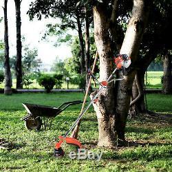Débroussailleuse De Tondeuse De Jardin Essence Essence Puissante 52cc 2 X Huile + 2 X Cordon