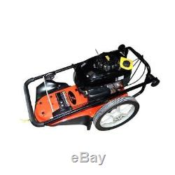 Essence 5.5hp Tondeuse Robuste À 2 Roues Coupe-herbe Coupe-herbe Free