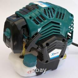 Grass Strimmer/bush Cutter 52cc 2 En 1 Petrol Home Garden 2 Ans Garantie Au Royaume-uni