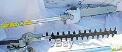Hilka 43cc 4 En 1 Essence Débroussailleuse Combo, Tondeuse À Fil Hedge Saw Cutter & Chain