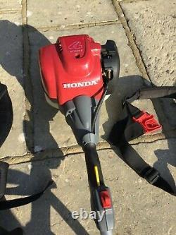 Honda Umk 435e, 4 Temps À Essence Débroussailleuse / Tondeuse À Fil Avec 2 Harnais, Sac À Outils