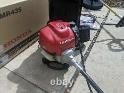 Honda Umr 435t Sac À Dos Essence Strimmer Brosse Cutter 4 Stroke