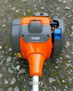 Husqvarna R129 Petrol Strimmer Brushcutter. Bon Ordre De Travail. Affranchissement Gratuit