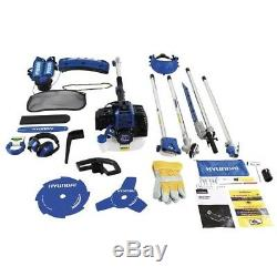 Hyundai Hymt5200 52cc Scie À Chaîne Débroussailleuse Multi-outils Pour Jardin Essence