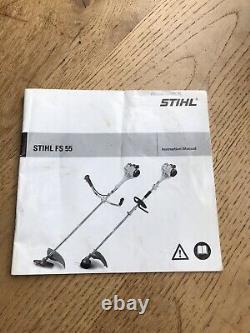 Immaculé Stihl Fs55 C Strimmer / Brushcutter