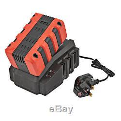 Jardin 5in1 Multi Tool Taille-haies Débroussailleuse Tronçonneuse Avec Batterie / Chargeur