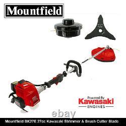 Mountfield Bk27e 27cc Kawasaki Engine Strimmer - Cutter