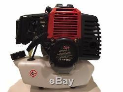 Multi Outils Engine 52cc 2 Coupeurs De Brosse Strimmer Taille-haies De Scooter