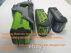 New Greenworks Duramaxx 40v Digi Pro Tondeuse De Pelouse / Brosse Cutter 2in1 (outil Seulement)