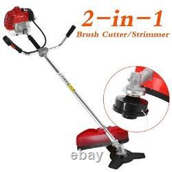 Petrol Garden Grass Trimmer Brush Bush Cutter 52cc Strimmer Lawn Tower Royaume-uni