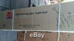 Progen Fox 52cc Garden Multi Tool 6 En 1 Haie Tronçonneuse Débroussailleuse