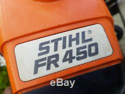 Stihl Fr450 Strimmer / Débroussailleuse Essence Ordre De Fonctionnement Complet Fr 450