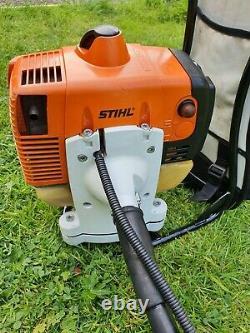 Stihl Fr480c Professionnel Électrostart Backpack Strimmer, Brushcutter Petrol 48,7
