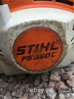 Stihl Fs360c Essence Professionnelle Tondeuse À Gazon / Débroussailleuse (lot2)