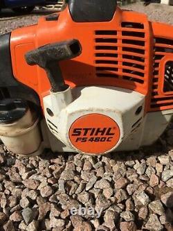 Stihl Fs460c Essence Professionnelle Tondeuse À Gazon / Débroussailleuse (lot10)