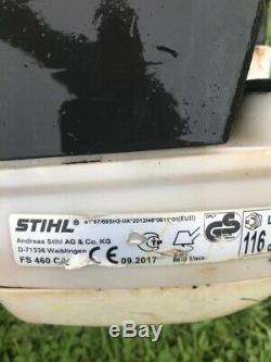 Stihl Fs460c-em Débroussailleuse Huile Débroussailleuse, App Harnais De Cordon 2018 En Service Du