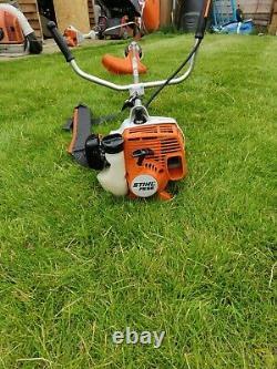 Stihl Fs55 27.2cc Brushcutter D'essence / Strimmer Acheté En Avril 2020. À Peine Utilisé