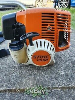 Stihl Fs90 / 100/130/87 Professional Tondeuse À Gazon, Débroussailleuse 28.4cc Essence 4 MIX