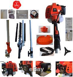 Taille-haies Multi-outils 4 En 1, Débroussailleuse, Haie 52cc Garantie 1 An Parcelforce 24