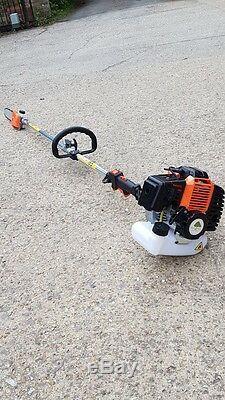 Tronçonneuse De Taille-haie De Débroussailleuse De Haie De Long Multi-outil De L'essence 52cc